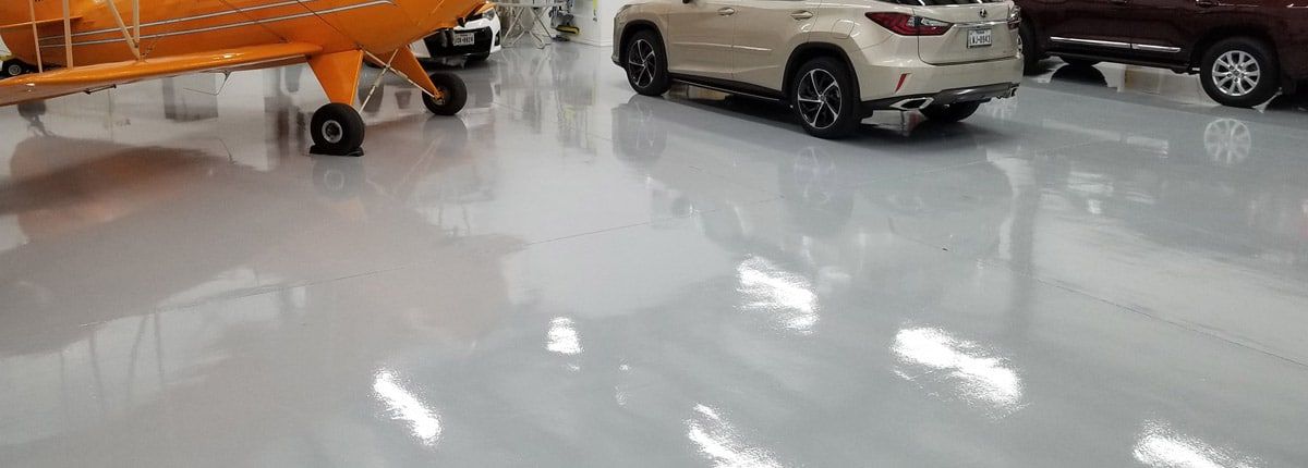 Houston TX Garage Flooring